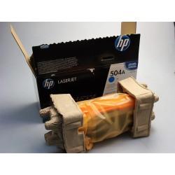 orig. HP 504A, CE251A Toner...